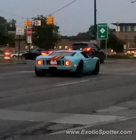 Ford GT spotted in Detroit, Michigan