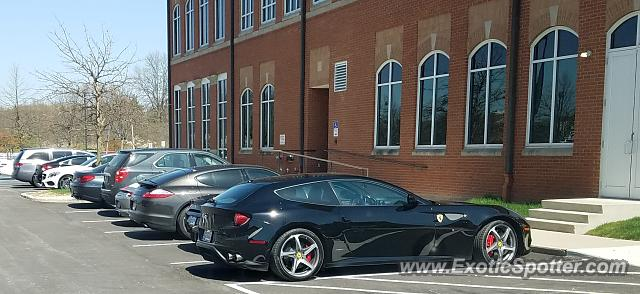 Ferrari FF spotted in Columbus, Ohio