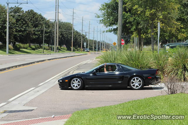 Acura NSX spotted in Riverview, Florida