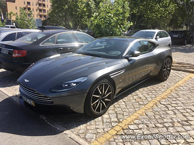 Aston Martin DB11 spotted in Vilamoura, Portugal