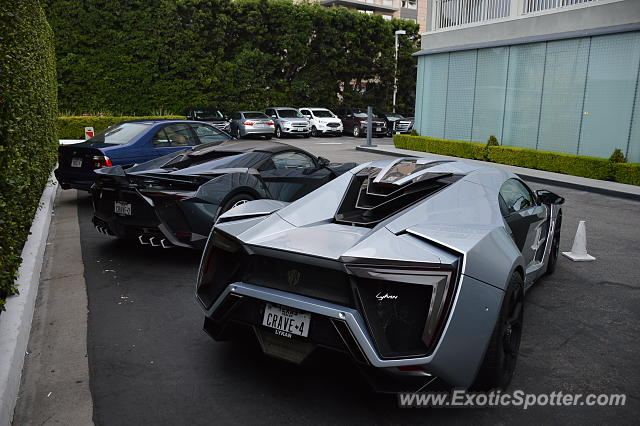 Lykan Hypersport spotted in Santa Monica, California