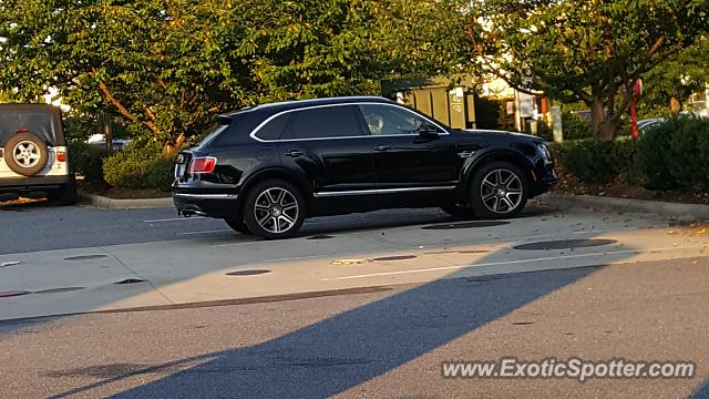 Bentley Bentayga spotted in Hickory, North Carolina
