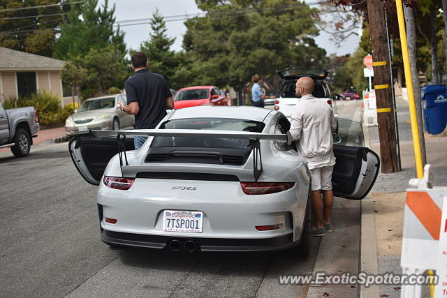 Porsche 911 GT3 spotted in Carmel, California