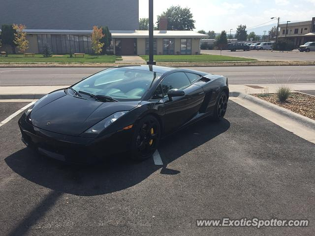 Lamborghini Gallardo spotted in Missoula, Montana