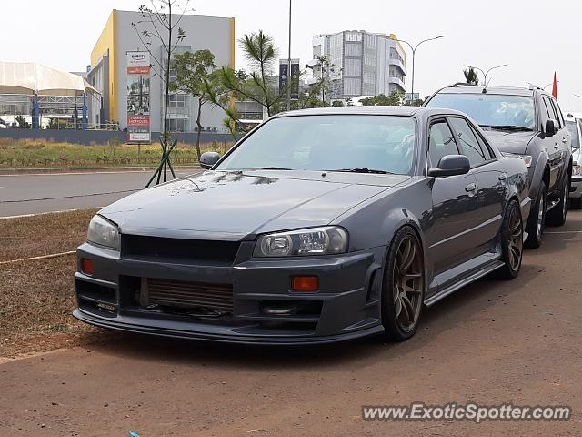 Nissan Skyline spotted in Serpong, Indonesia