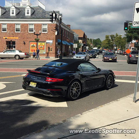 Porsche 911 Turbo spotted in Westfield, New Jersey