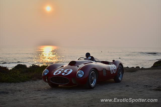 Ferrari 375 spotted in Pebble beach, California