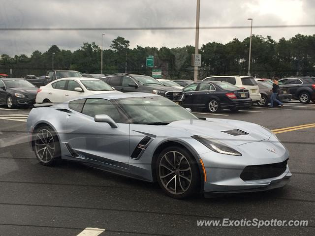 Chevrolet Corvette Z06 spotted in Wildwood, New Jersey