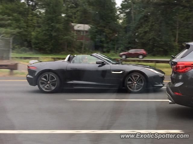 Jaguar F-Type spotted in Wildwood, New Jersey