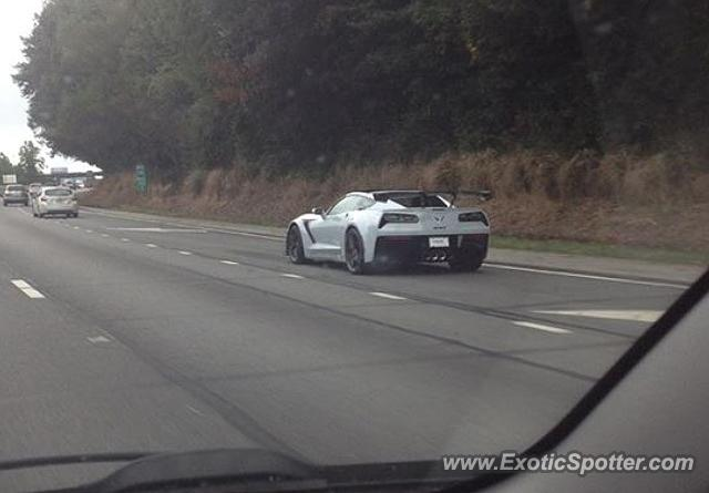 Chevrolet Corvette ZR1 spotted in Watchung, New Jersey