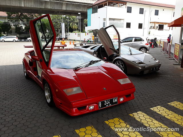 Lamborghini Countach Spotted In Jakarta Indonesia On 09 16 2018
