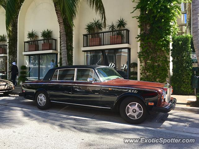 Rolls-Royce Silver Shadow spotted in Palm Beach, Florida