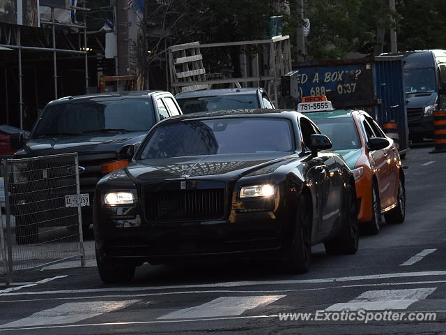 Rolls-Royce Wraith spotted in Toronto, Canada