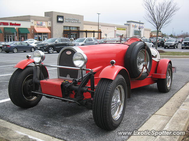 Bugatti 35b spotted in Columbia, Maryland