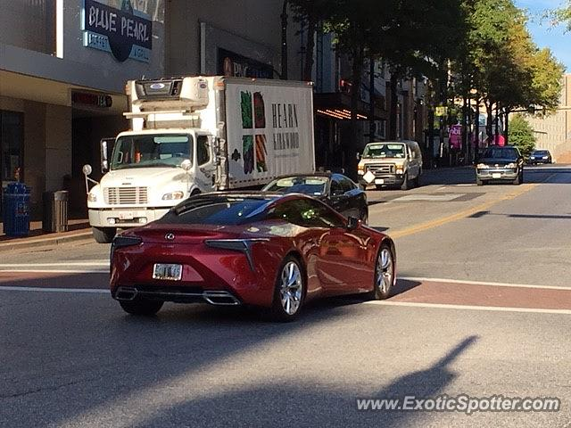 Lexus LC 500 Spotted In Silver Spring, Maryland