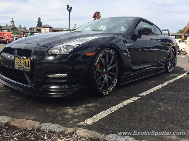 Nissan GT-R spotted in Westfield, New Jersey