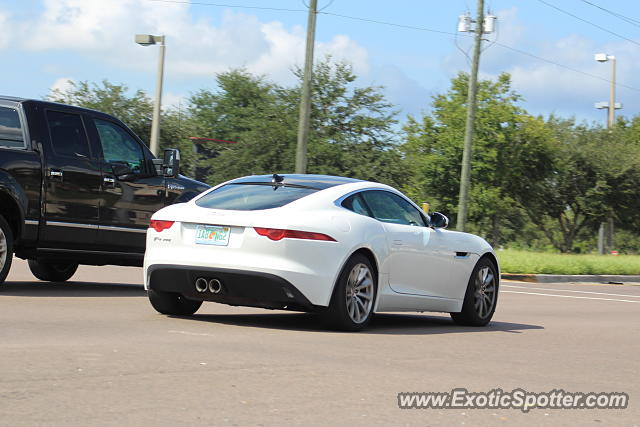 Jaguar F-Type spotted in Riverview, Florida