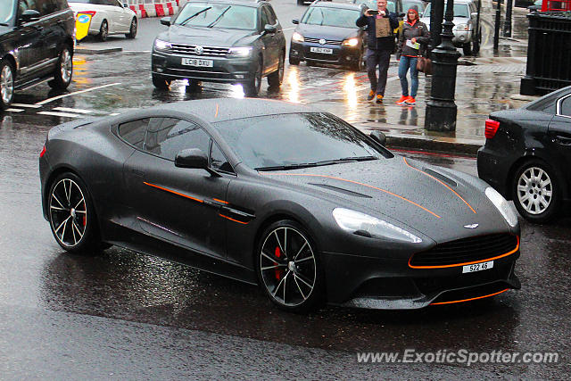 Aston Martin Vanquish spotted in London, United Kingdom