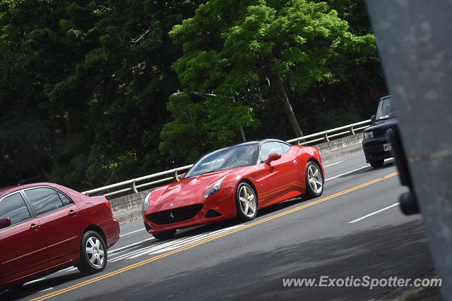 Ferrari California spotted in Honolulu, Hawaii