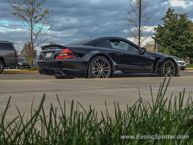 Mercedes SL 65 AMG spotted in Stillwater, Minnesota