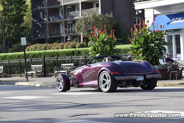 Plymouth Prowler spotted in Wayzata, Minnesota