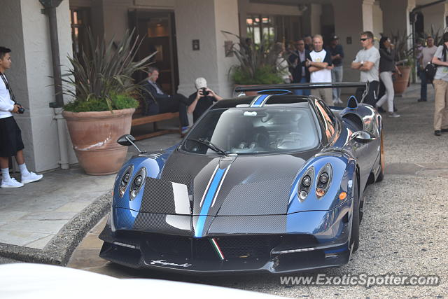 Pagani Huayra spotted in Pebble beach, California
