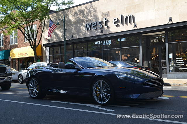 Aston Martin Db9 Spotted In Summit New Jersey On 09 29 2018