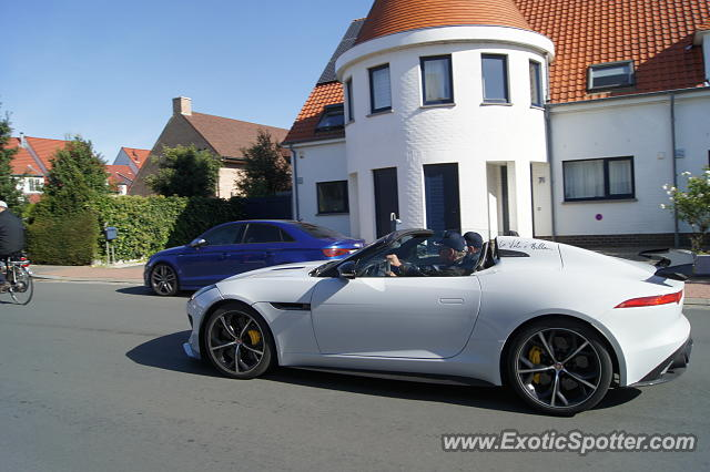Jaguar F-Type spotted in Knokke-Heist, Belgium