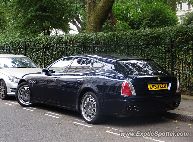 Maserati Quattroporte spotted in London, United Kingdom