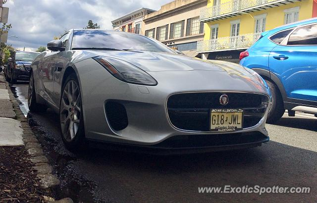 Jaguar F-Type spotted in Westfield, New Jersey