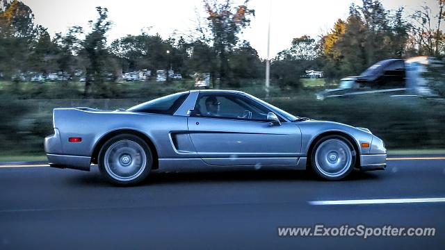 Acura NSX spotted in Clinton, New Jersey