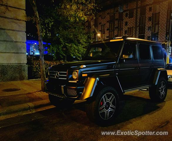 Mercedes 4x4 Squared spotted in Minneapolis, Minnesota