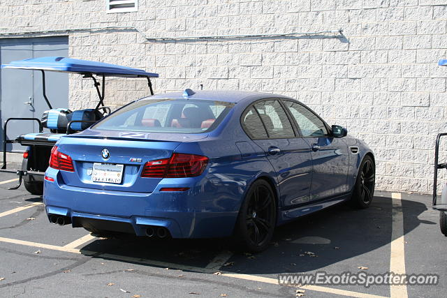 BMW M5 spotted in Laurel, Maryland