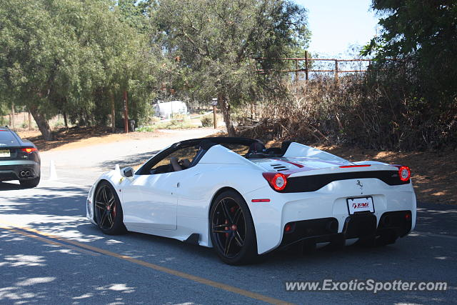 Ferrari 458 Italia spotted in Monterey, California