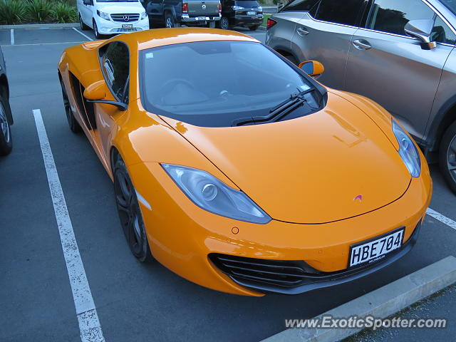 Mclaren MP4-12C spotted in Picton, New Zealand