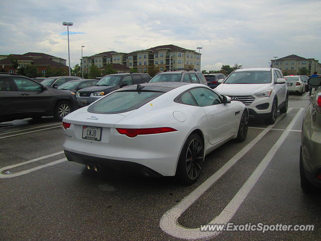 Jaguar F-Type spotted in Columbia, Maryland