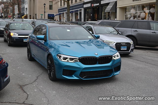 Bmw M5 Spotted In Greenwich Connecticut On 11 24 2018 Photo 2