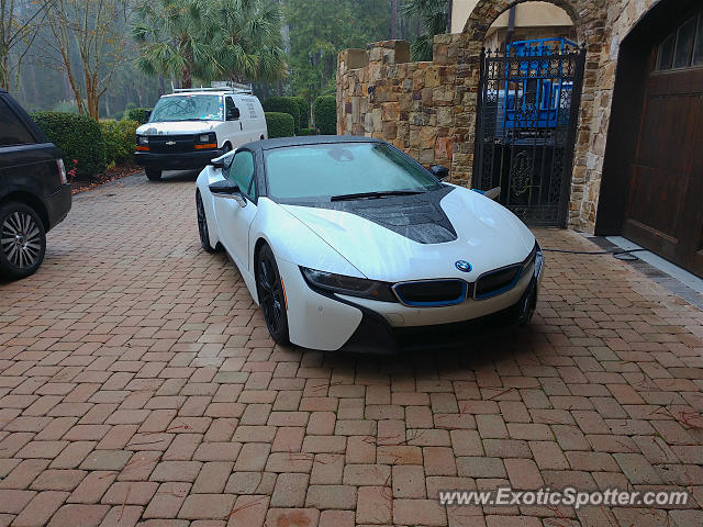 BMW I8 spotted in Bluffton, South Carolina