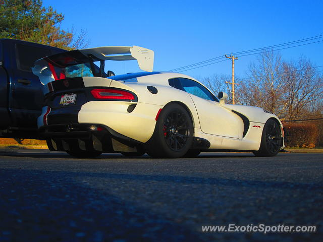Dodge Viper spotted in Laurel, Maryland