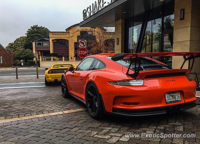Porsche 911 GT3 spotted in Atlanta, Georgia