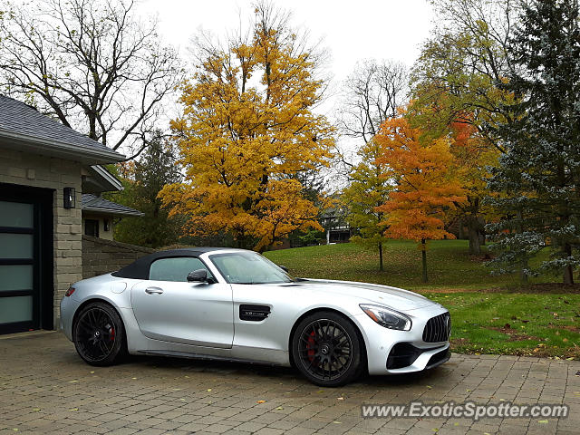 Mercedes AMG GT spotted in London, Canada
