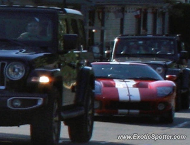 Ford GT spotted in Rockville, Maryland