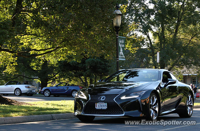 Lexus LC 500 spotted in Great falls, Virginia