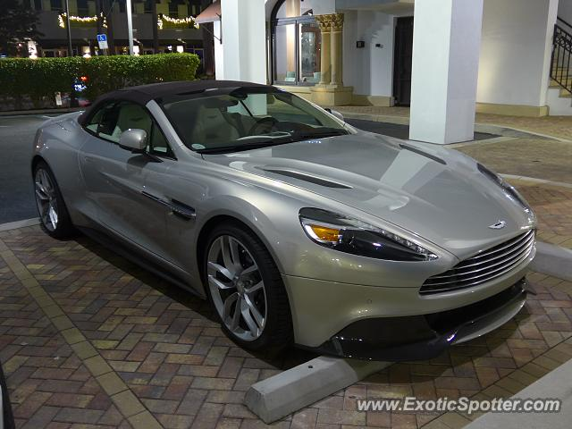 Aston Martin Vanquish spotted in Naples, Florida