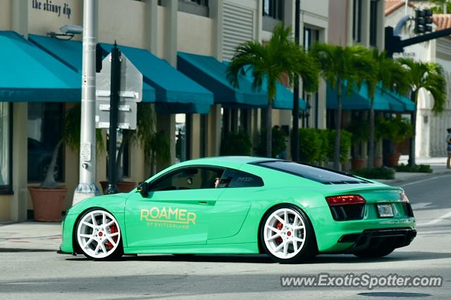 Audi R8 spotted in Palm Beach, Florida