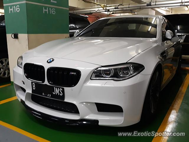 BMW M5 spotted in Jakarta, Indonesia