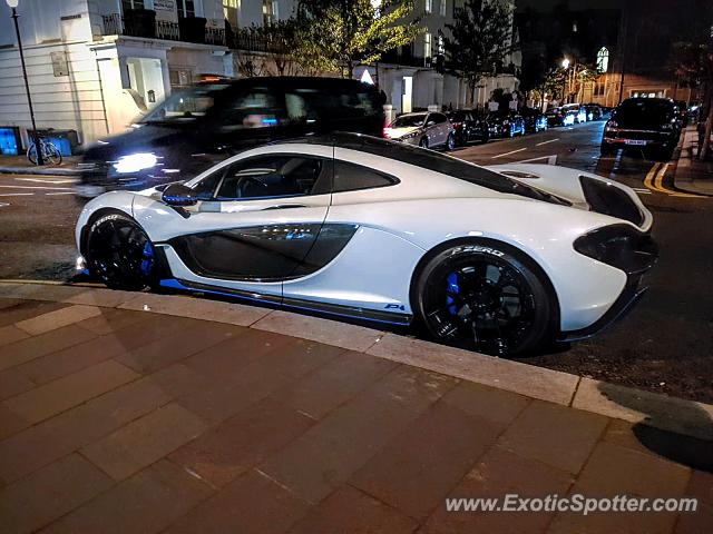 Mclaren P1 spotted in London, United Kingdom
