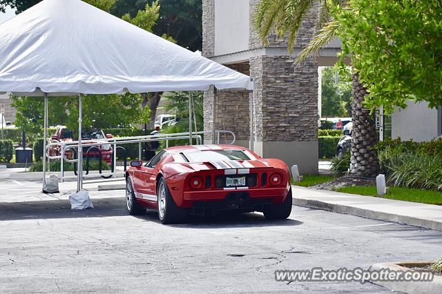 Ford GT spotted in Boca Raton, Florida
