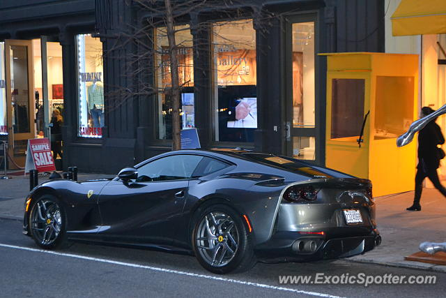 Ferrari 812 Superfast spotted in Manhattan, New York