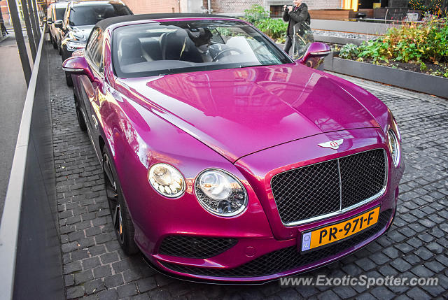Bentley Continental spotted in Amsterdam, Netherlands